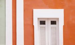Maisons colorées Photographie stock libre de droits
