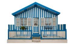 Maisons colorées du Portugal Photo libre de droits