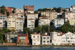 Maisons confortables d'Istanbul Images stock