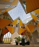 Maisons cubiques à Rotterdam Image libre de droits