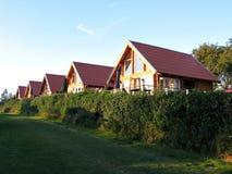 Maisons d'été en bois Image libre de droits