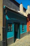 Maisons d'or de voie, Prague Images stock