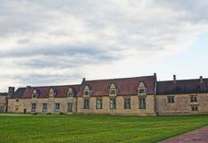 Maisons d'employé dans la Chambre d'extrémité d'Audley dans Essex Photos libres de droits