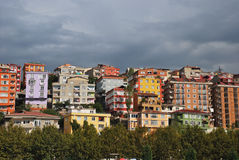 Maisons d'Istambul Photos stock