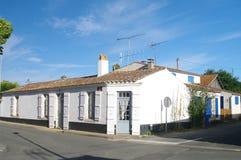 Maisons d'Oleron Image libre de droits