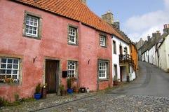 Maisons dans Culross photographie stock