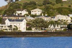 Maisons de bord de la mer Photos libres de droits