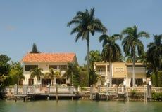 Maisons de bord de mer Photo libre de droits