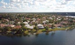 Maisons de bord de mer en Floride image libre de droits