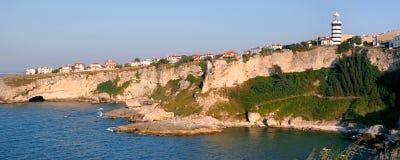 maisons de côte plus de Images libres de droits