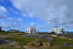Maisons de Cabo Polonio Photos libres de droits