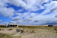 Maisons de Cabo Polonio Photographie stock