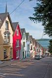 Maisons de Cobh Photos libres de droits