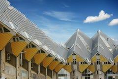 Maisons de cube Rotterdam - de Hollande Photos stock