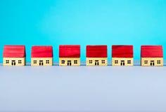 Maisons de figurine Images libres de droits