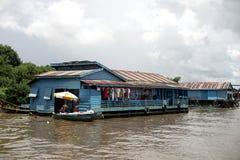 maisons de flottement photo stock