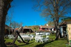 Maisons de Goteborg, Suède image stock