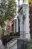 Maisons de grès de Brooklyn Image stock