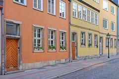 maisons de Hannovre photo stock
