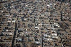 Maisons de Kaboul Photos stock