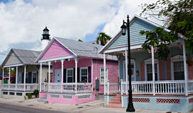 Maisons de Key West Images libres de droits