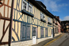Maisons de la Normandie Photos libres de droits