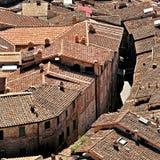 Maisons de la Toscane, Italie Photos libres de droits