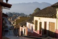 Maisons de las de San Cristobal Image stock