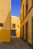 Maisons de Las Palmas de Gran Canaria Vegueta Images stock