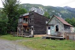 Maisons de location démodées Photo libre de droits