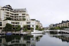 Maisons de luxe à Capetown photographie stock
