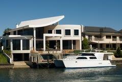 Maisons de luxe Images libres de droits