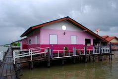 Maisons de mer Images libres de droits
