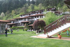 Maisons de montagne Photo libre de droits