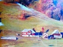 Maisons de montagne Photo stock
