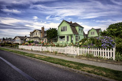 Maisons de plage Photo libre de droits