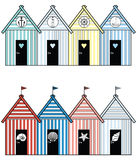 Maisons de plage II Image stock