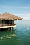 Maisons de plage sur l'eau Photos libres de droits