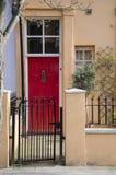 Maisons de porte de Notting Hill Photo stock
