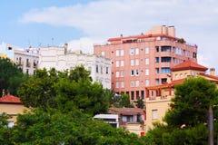 Maisons de résidence à Tarragone images stock