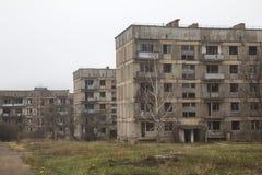 Maisons de rapport abandonnées Photos libres de droits