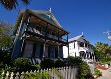 Maisons de St Augustine Images stock