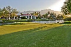 Maisons de terrain de golf de Palm Spring Photo libre de droits