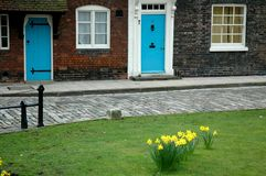 Maisons de tour de Londres Images libres de droits