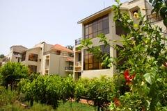 Maisons de vacances dans l'Inde Photos stock