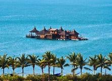 Maisons de vacances sur la mer Photographie stock