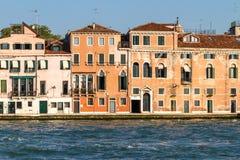 Maisons de Venise Image libre de droits