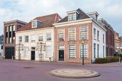Maisons de ville antique à Amersfoort, Pays-Bas Photo libre de droits