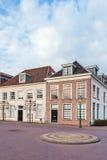 Maisons de ville antique à Amersfoort, Pays-Bas Images stock