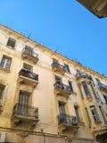 Maisons de ville de Tanger Photos libres de droits